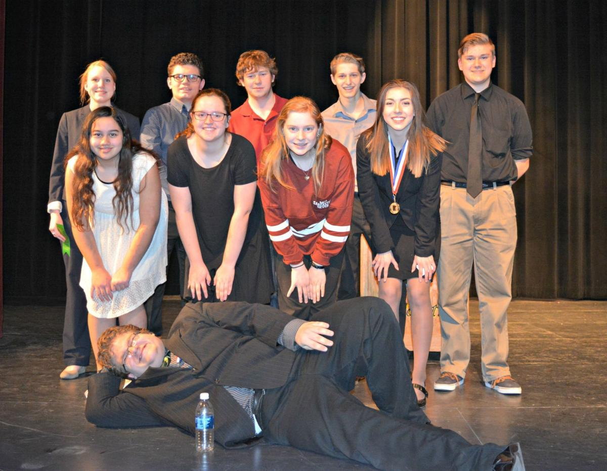 Speech team teaches life skills to students | News