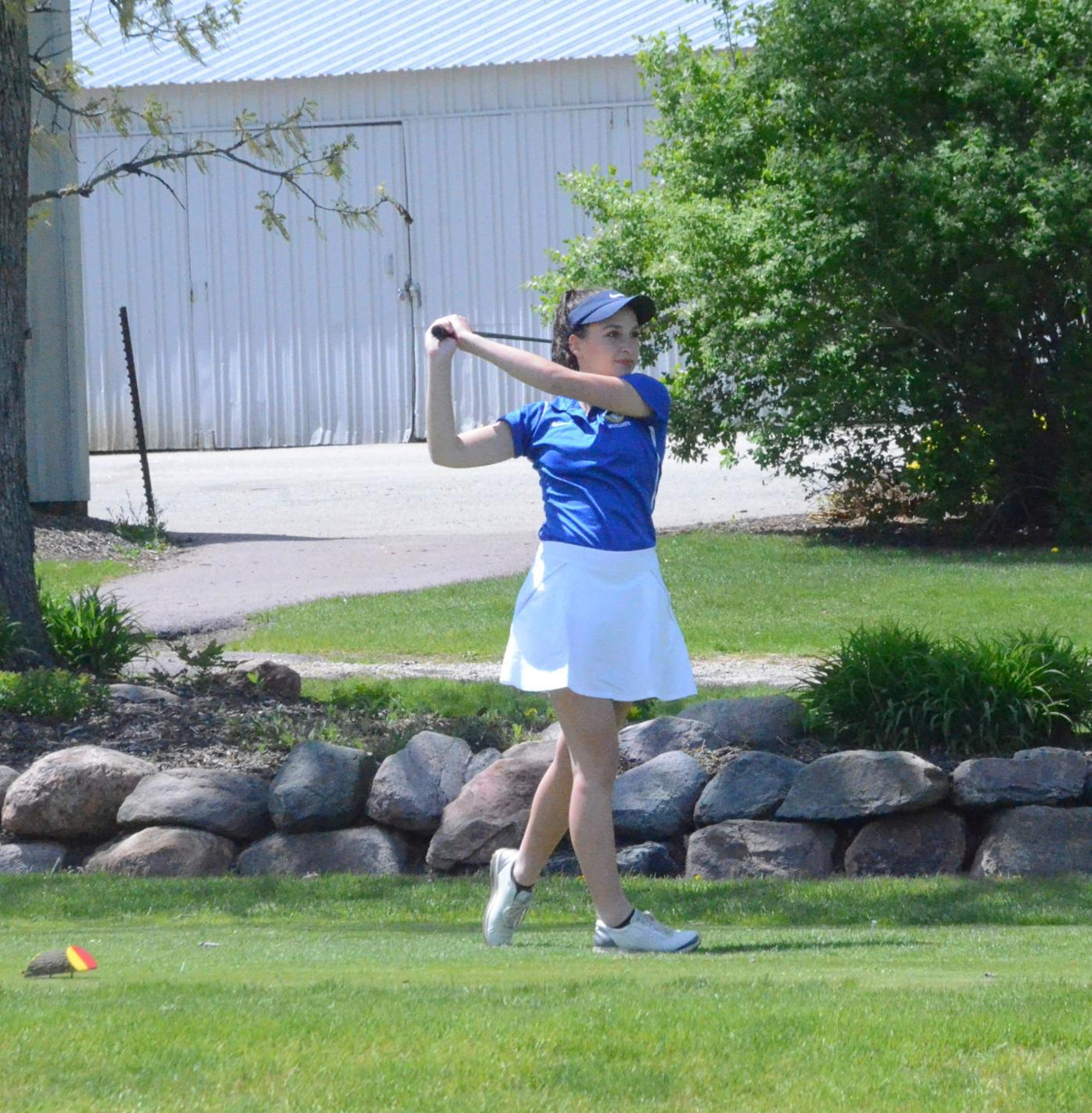 Waseca senior Megan Nelson is in a league of her own