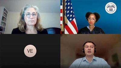 Online video hearing