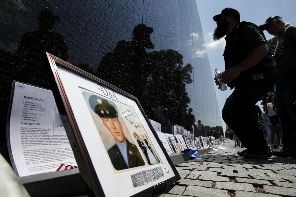 Vietnam Veterans Memorial needs missing photos to complete 'Wall of Faces' project