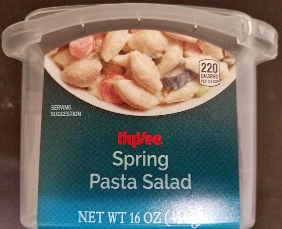 Hy-Vee voluntarily recalls pasta salad due to reported illnesses