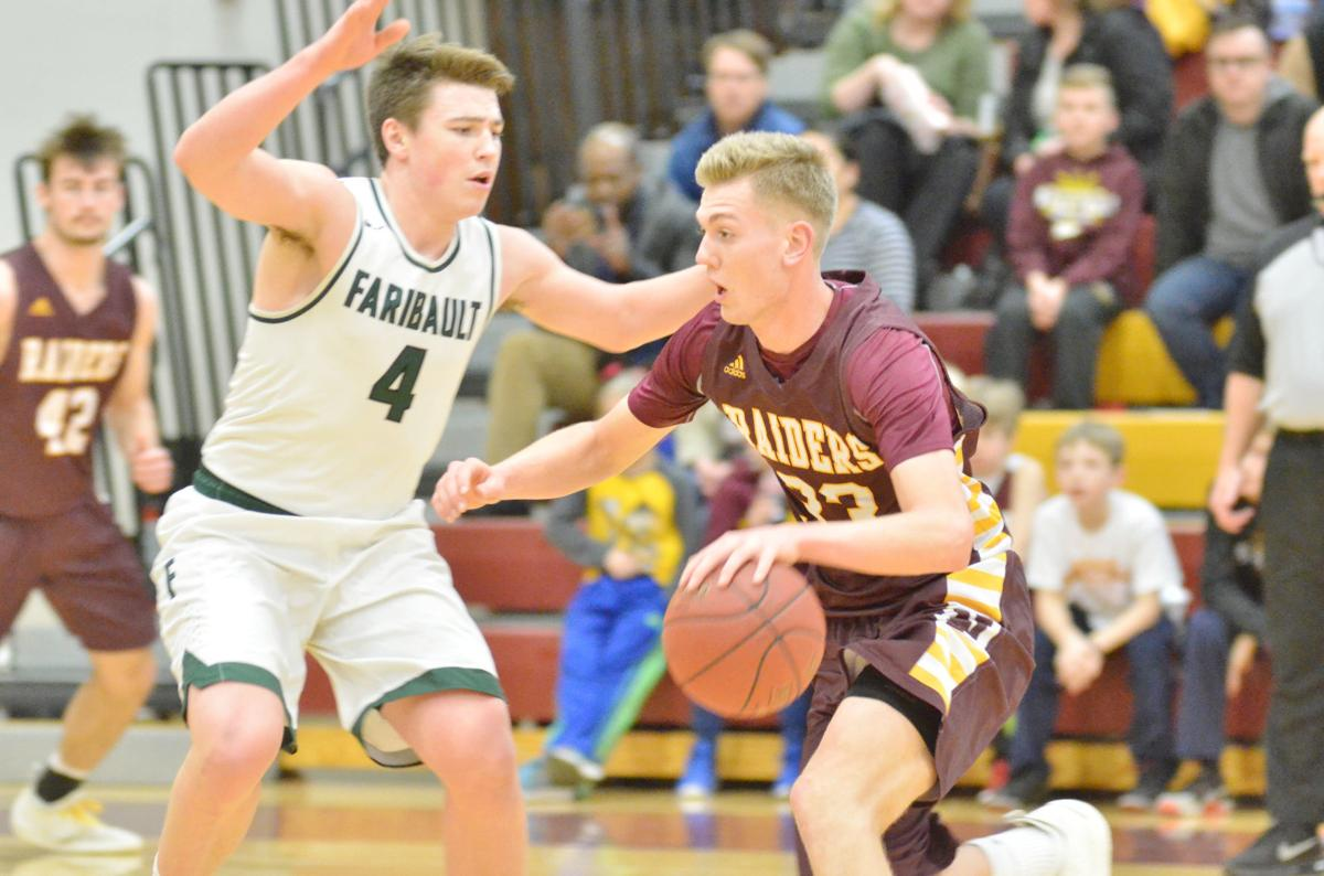Northfield boys basketball holds on against Faribault to cap