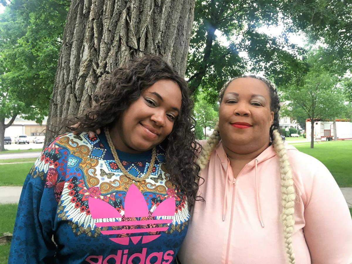 Priyia Lacey and Thelma Jones
