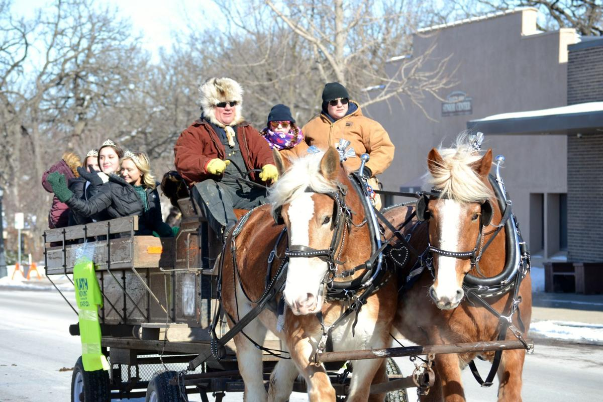 Waseca celebrates with Sleigh and Cutter's 70th consecutive annual parade