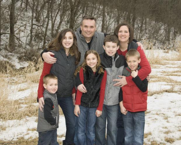 The Dan and Kendra Hoehn family