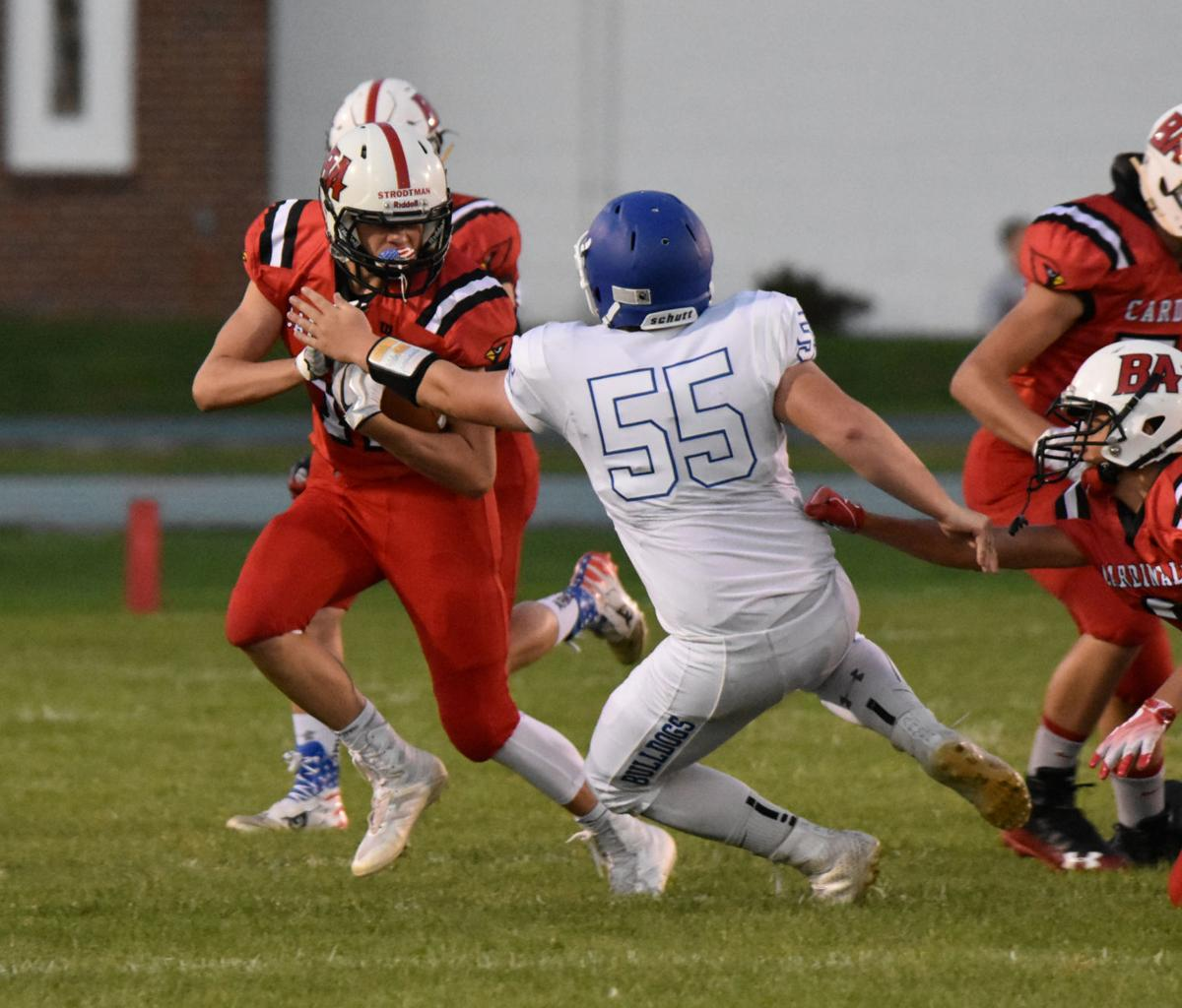 Sam Whitelock Breaks A Tackle: Cardinals Dominate On The Ground In Win Over JWP