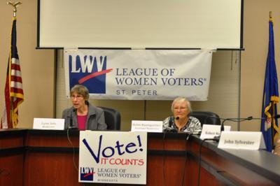 League of Women Voters St. Peter Forum