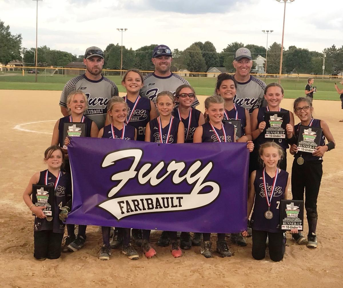 Faribault Fury 10U Purple