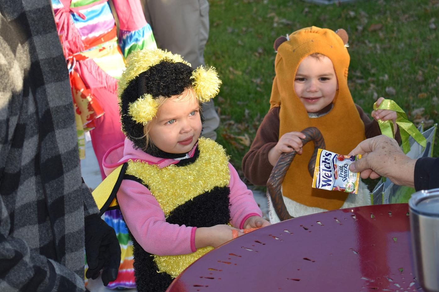 Pandemic Halloween - Handing Out Candy