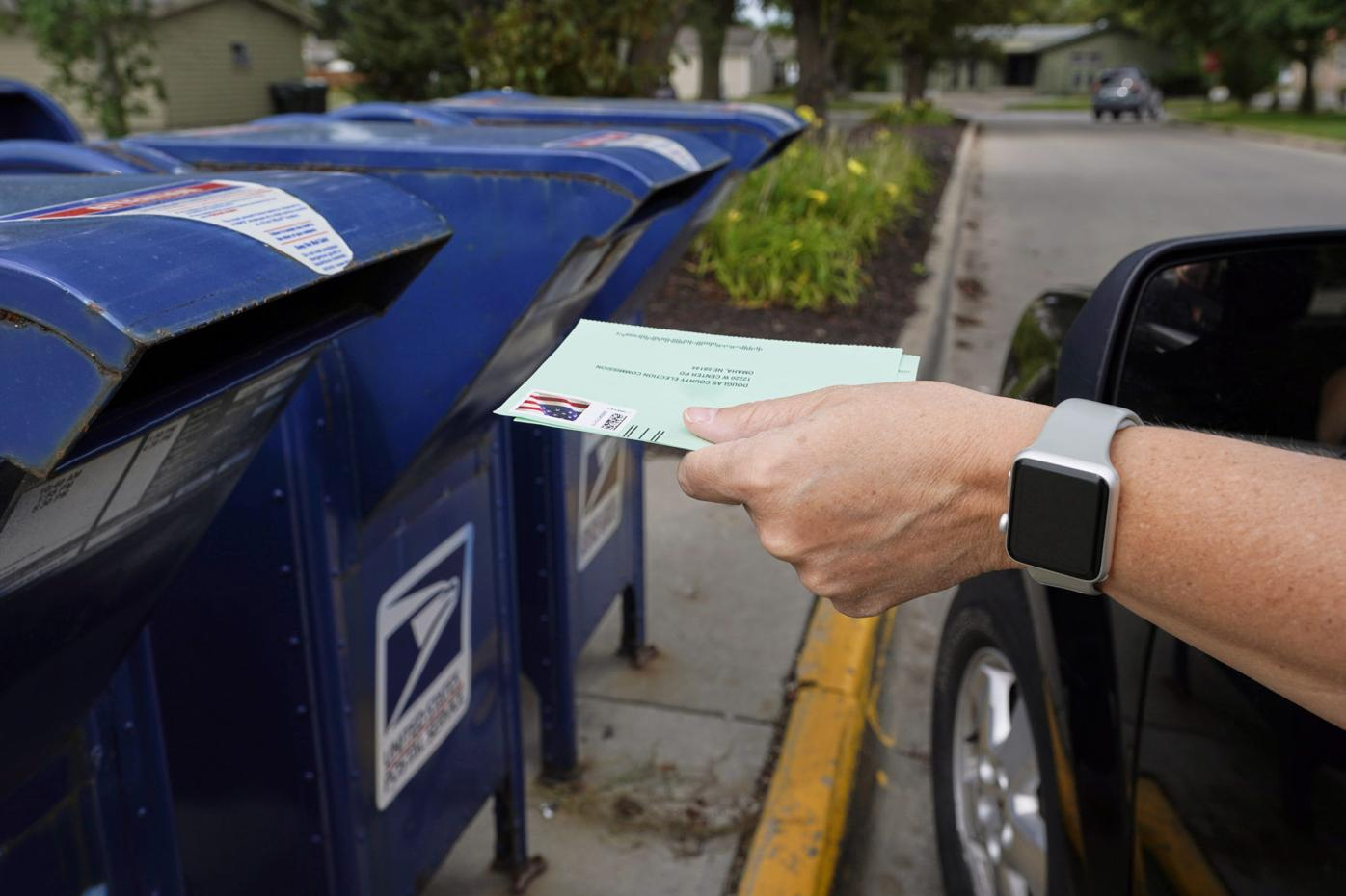 Election 2020 Postal Service Delivery