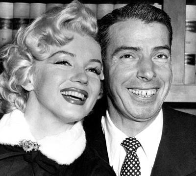 Joe DiMaggio Marilyn Monroe Married