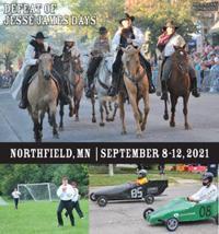 Defeat of Jesse James Days 2021
