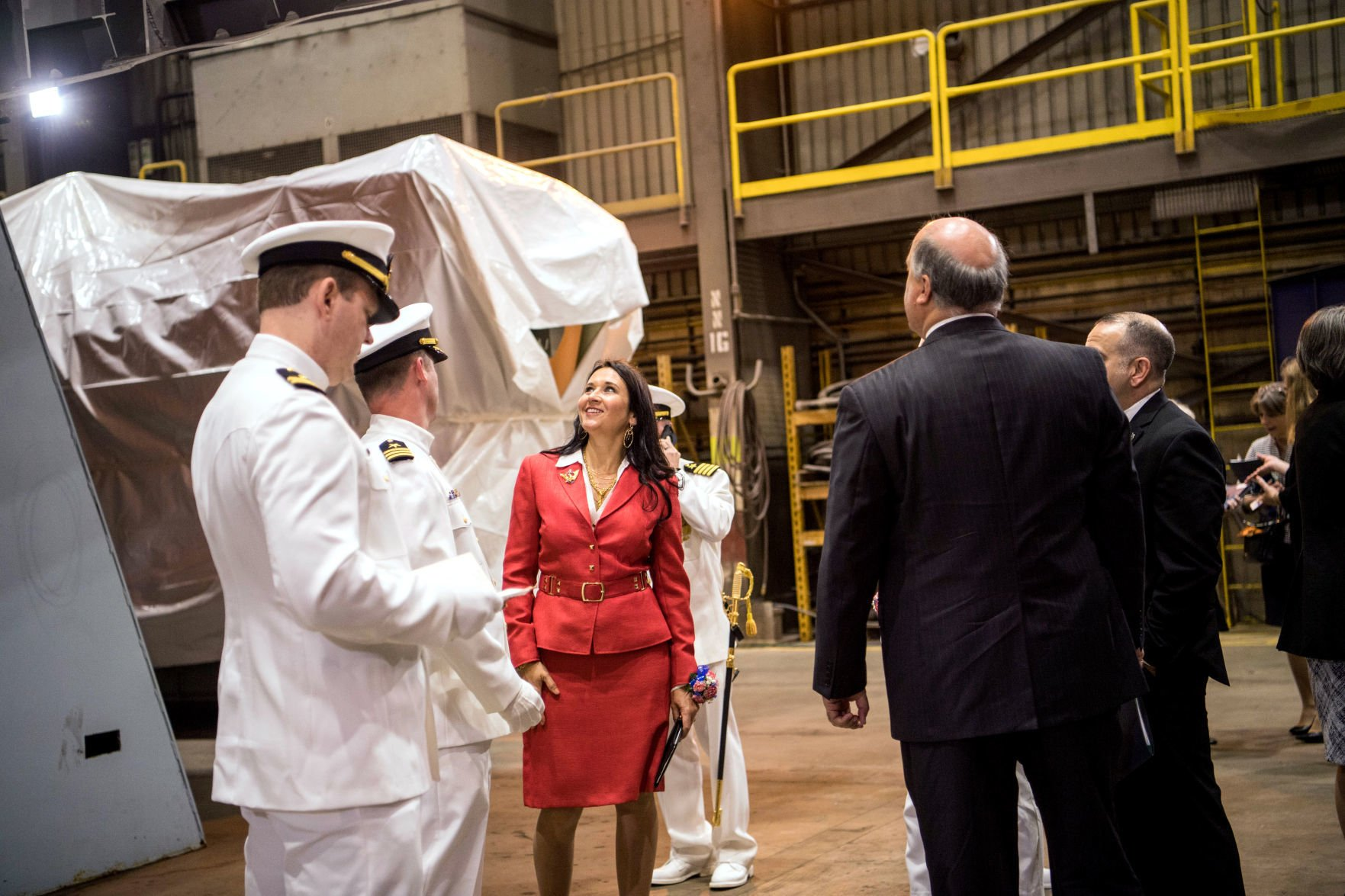 Northfield native christens USS Minneapolis-St. Paul