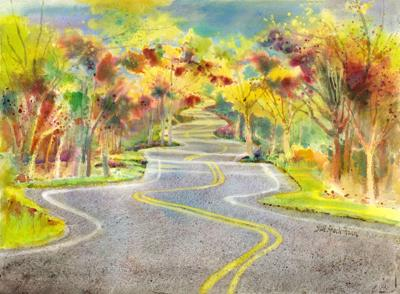 Gail Speckmann's Watercolor Painting