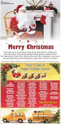 Kenyon Letters to Santa 2019