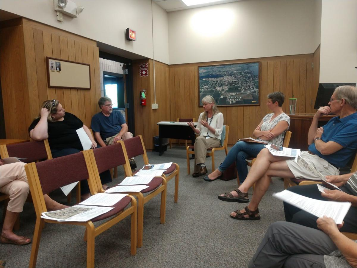 Waseca HPC held an informative meeting for public questions on Historic Downtowns