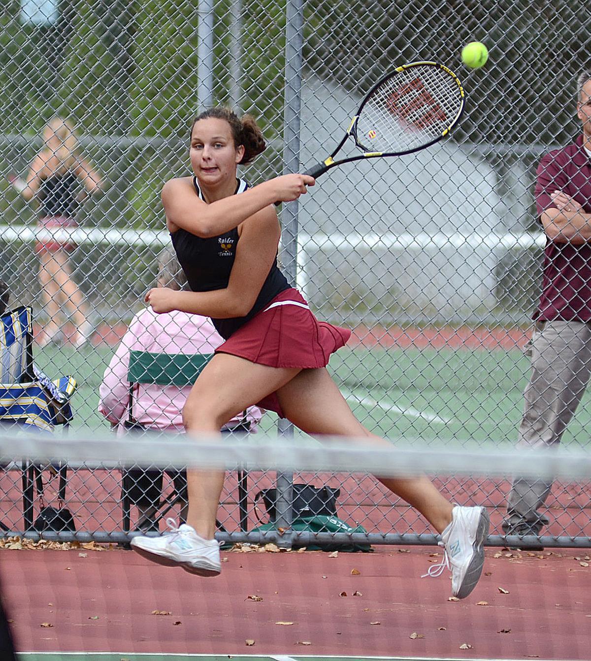 south prairie senior singles Class 2a singles champion wed  dubuque senior 6-4 5-7 1-0  cedar rapids prairie 0.