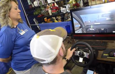 Distracted and drunk driving simulator