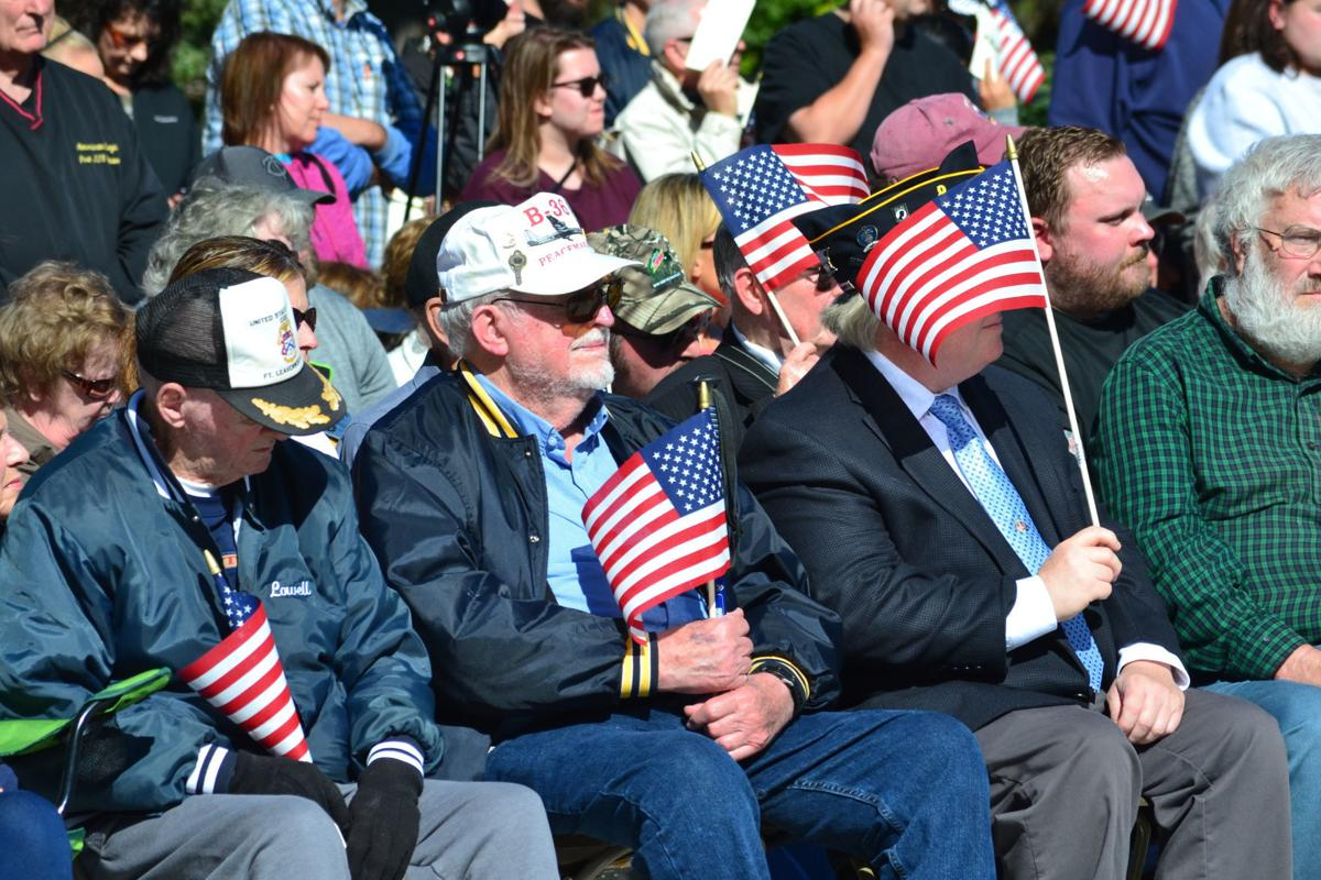 Waseca County Veterans Memorial dedication brings out hundreds