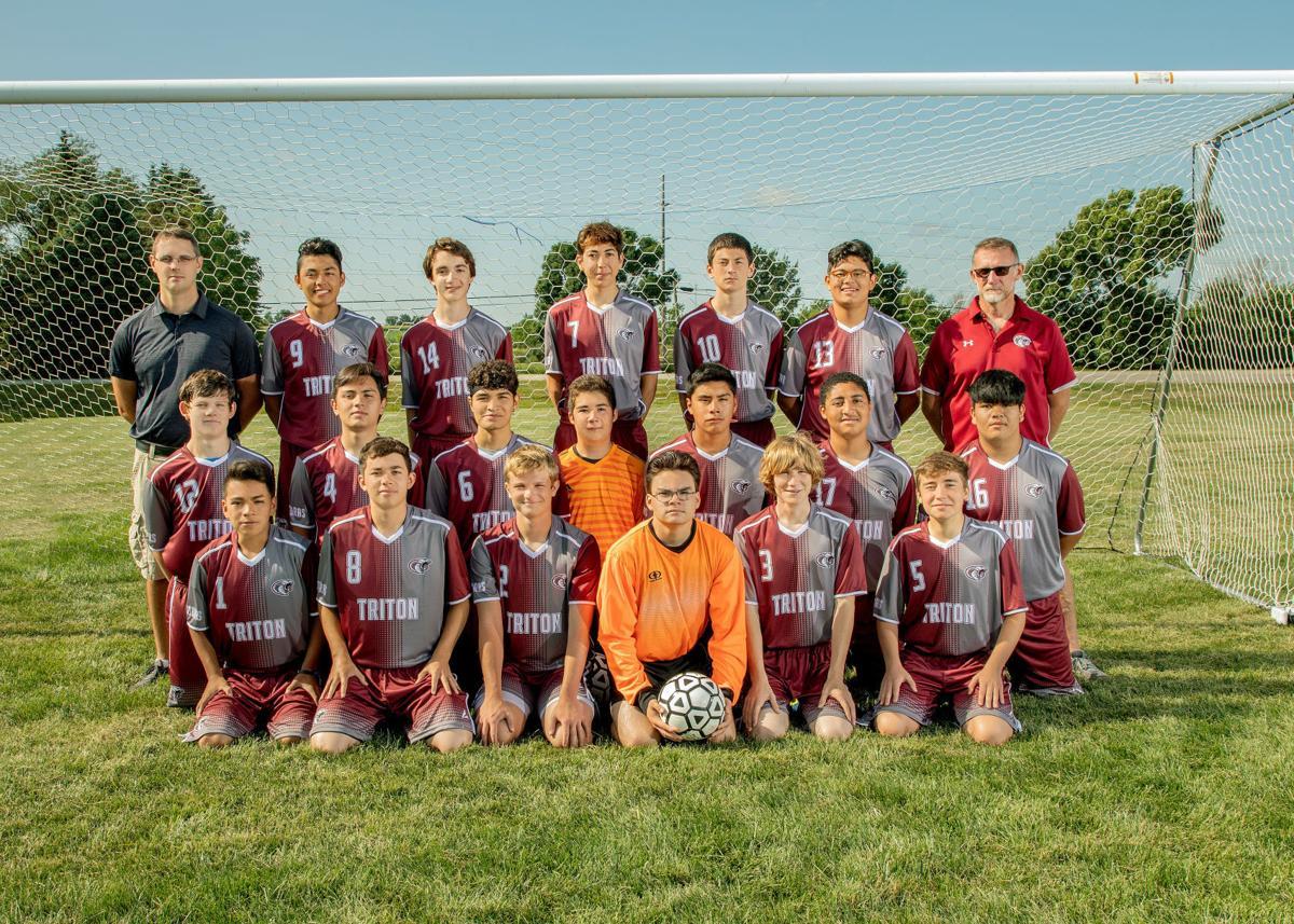 Triton/K-W/Hayfield varsity boys soccer 2019