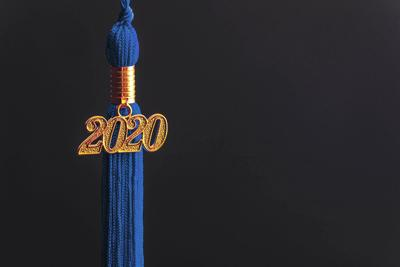 Graduation 2020 Stock Photo
