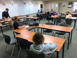 TCU high school classroom