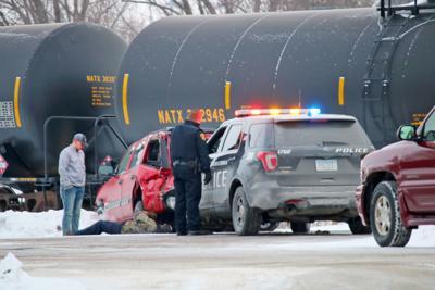 Vehicle/Train crash