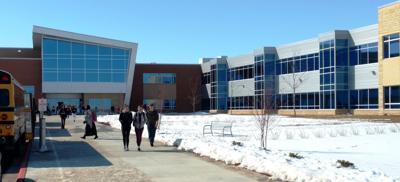 St. Peter High School east entrance