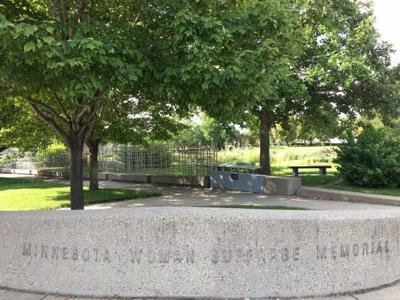 Minnesota Womens Suffrage Memorial
