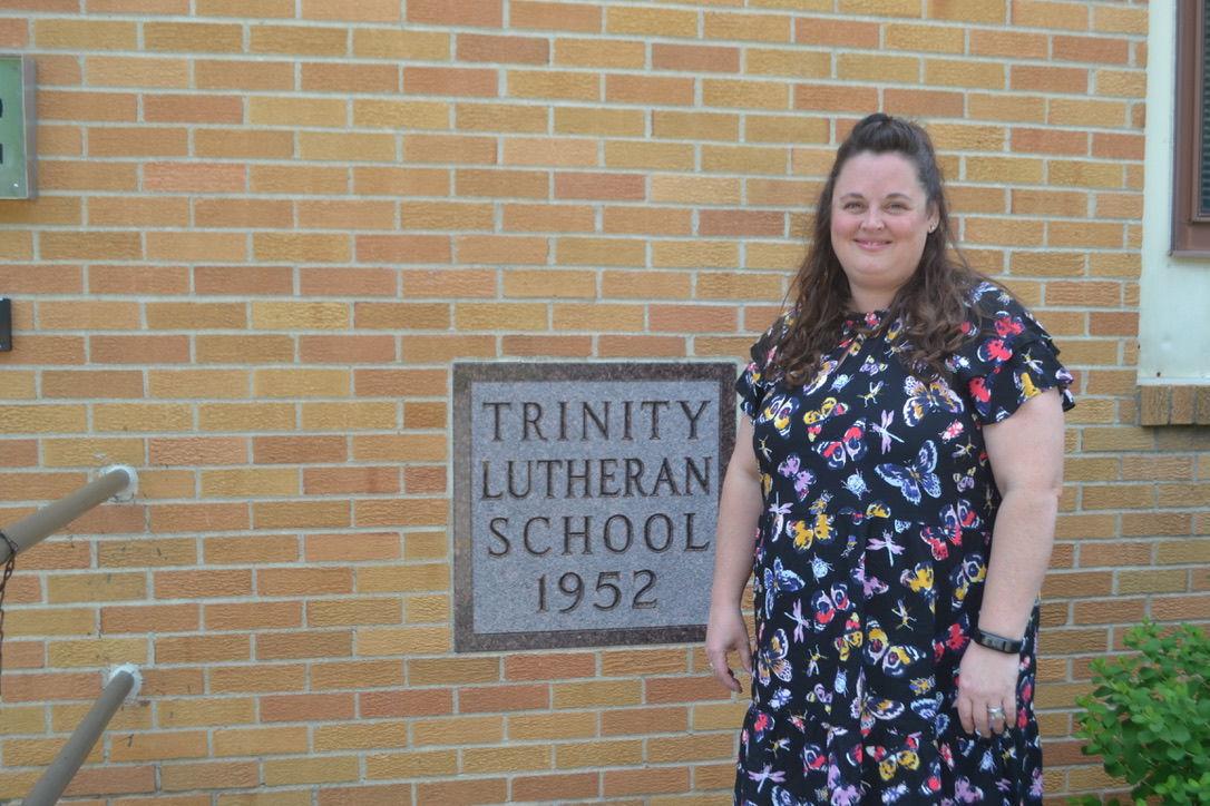 Trinity Lutheran teacher, Wulf, wins bulletin board contest second year in a row