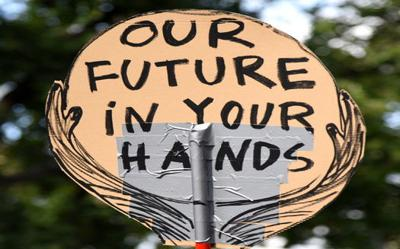 """Transparent: """"Our future in your hands"""""""