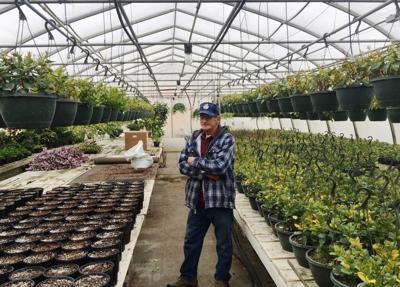 Stan Boe of Faribault Garden Center