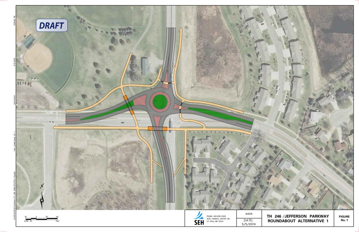 Council considering underpasses for Jefferson Pkwy., Highway 246 roundabout
