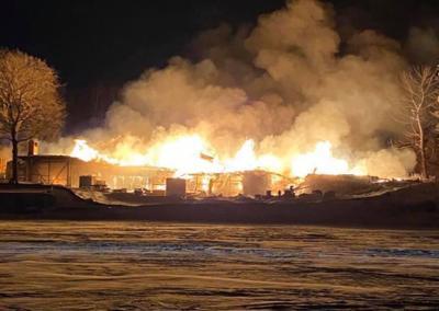 Lake Minnetonka Fire 1