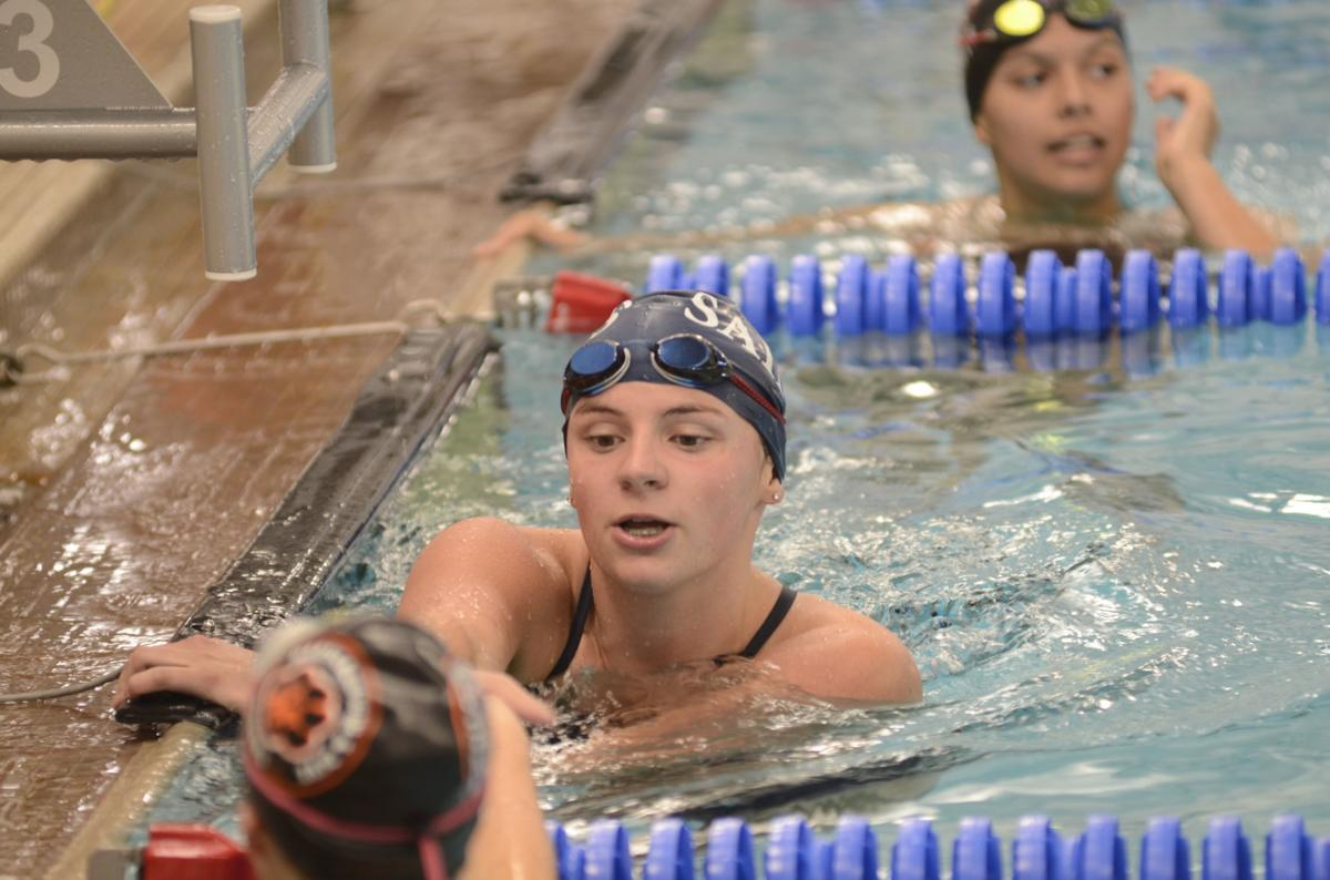 St. Peter swim and dive takes first loss of season