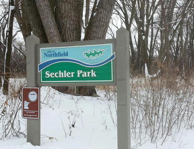 Sechler Park entrance