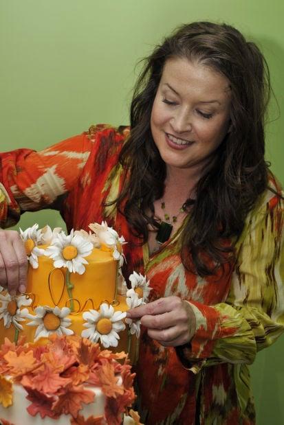Beth Eliason works her cake magic