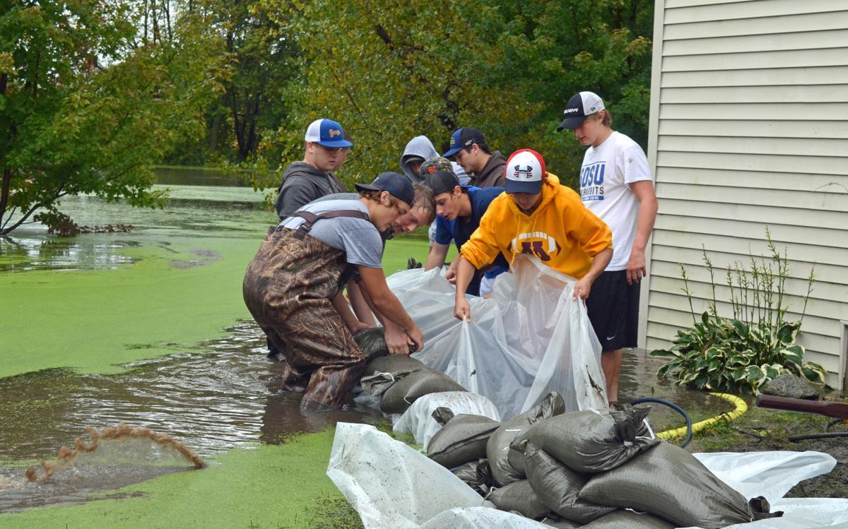 Inches Of Rain Floods Roads Fills Basements Closes Schools - Basement keeps flooding