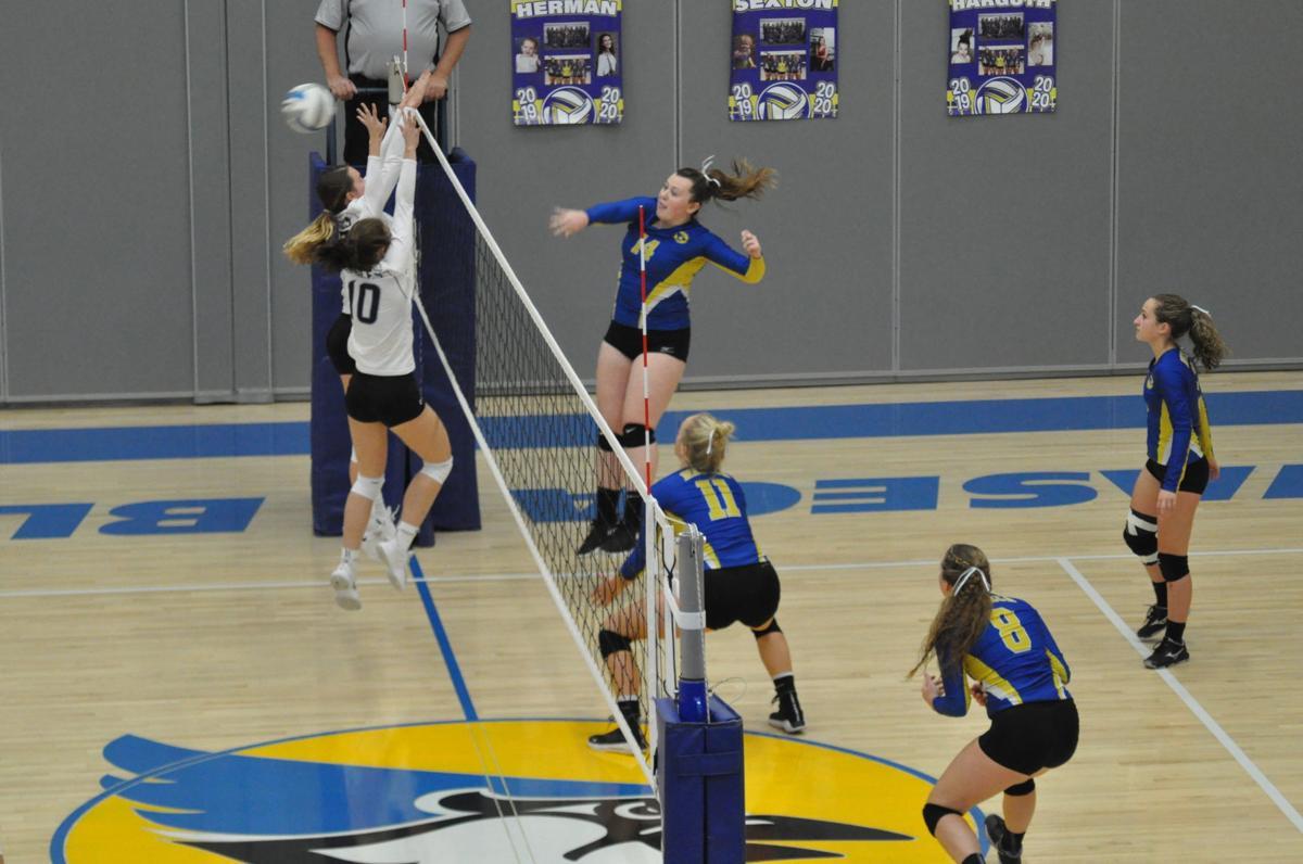 Bluejay volleyball sweeps New Ulm, on winning streak