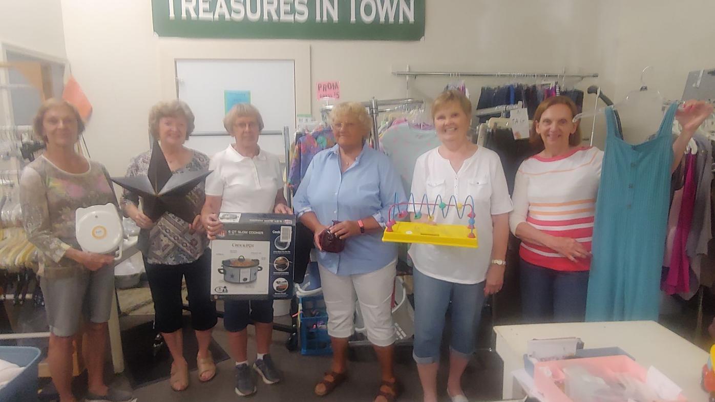 Treasures in Town Crew