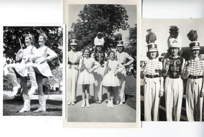 Zamboni Twins, marching band majorettes