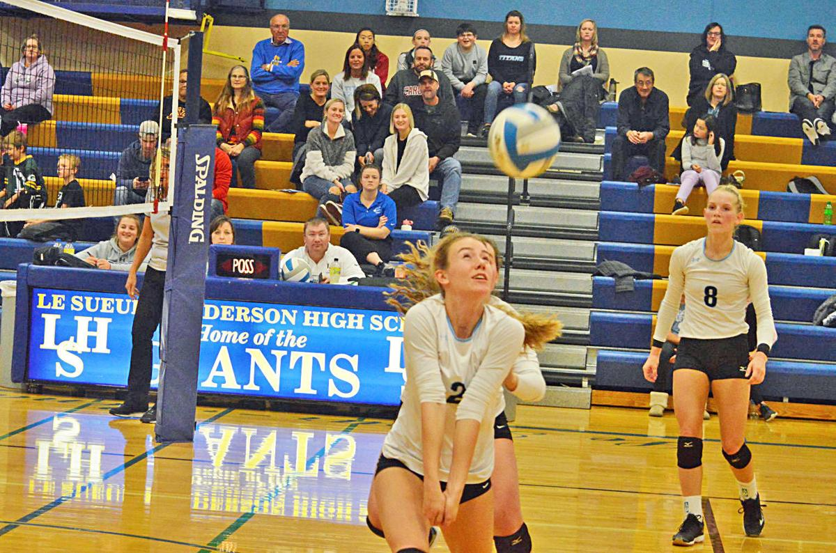 County rivalry: LS-H volleyball defeats TCU 3-0