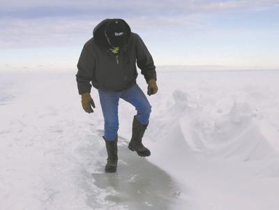 Hellish ice-fishing season