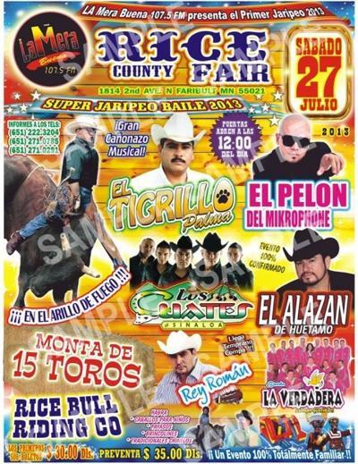 Faribault's fair grounds to host Gran Jaripeo | Local