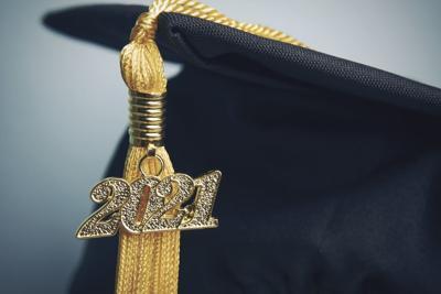 2021 Graduation Tassel Stock Photo