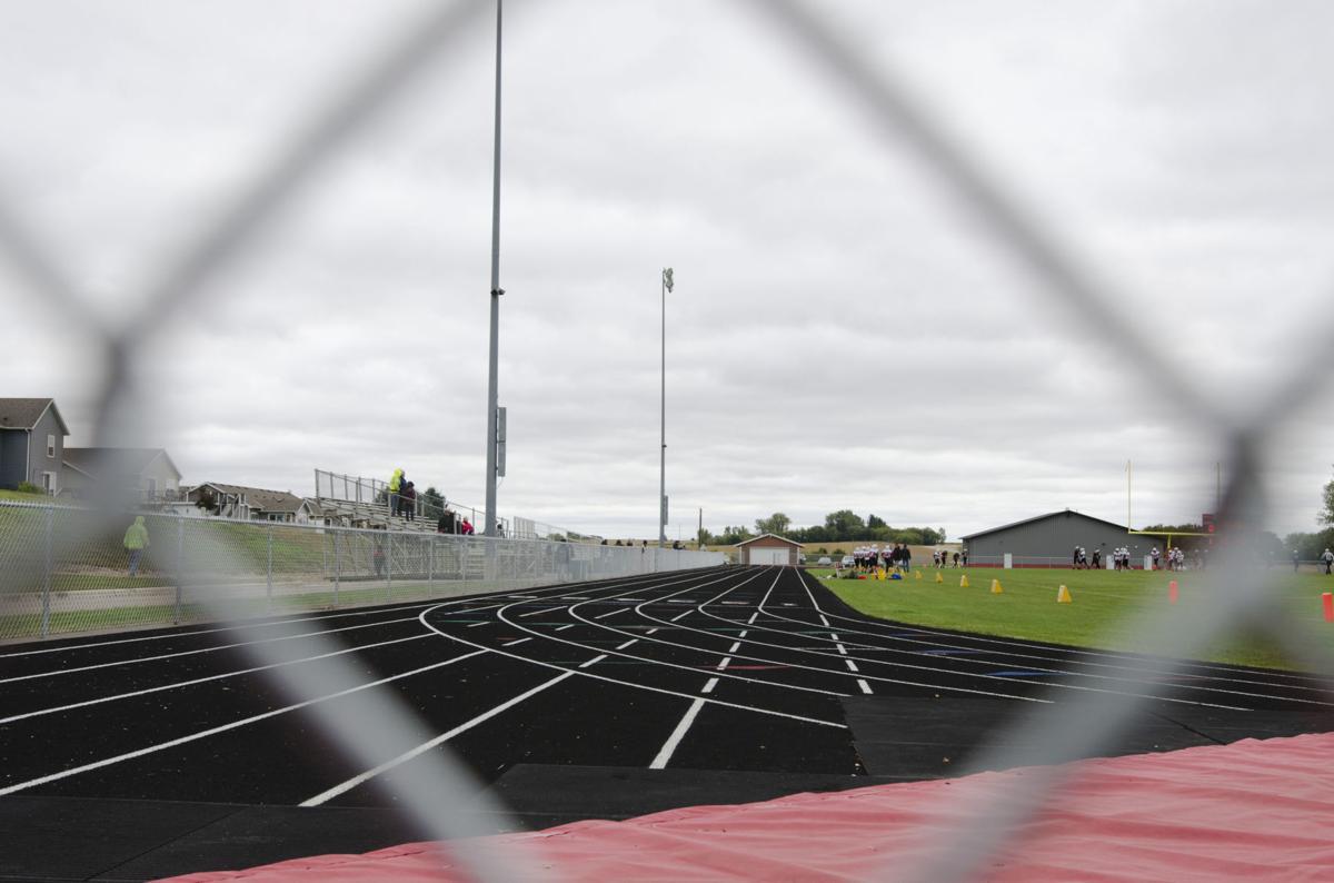 Kenyon-Wanamingo Middle/High School track/football field