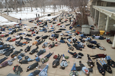 St. Olaf protest