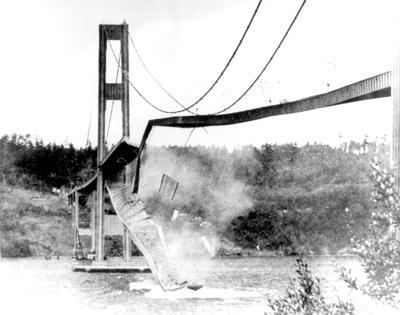 TACOMA BRIDGE COLLAPSED