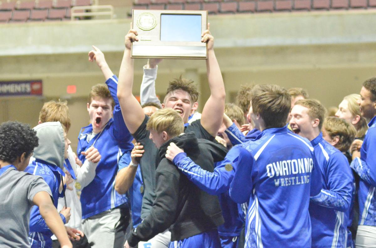 BACK ON TOP: Owatonna wrestling upsets top-seeded Northfield for section title