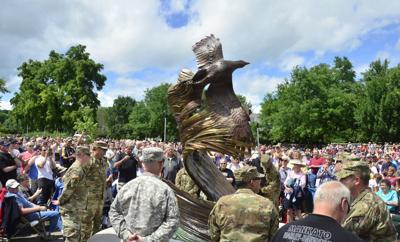 St. Peter Area Veterans Memorial in July
